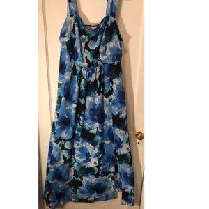 Nicole Miller Studio Navy/Blue Dress